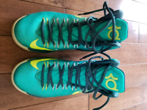KDs Basketball Shoes Size 8