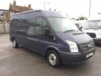 2013/62 Ford Transit 300 2.2TDCi 100PS LWB Med Roof Van