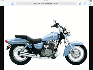 Suzuki Marauder Cruiser - like new - REDUCED!