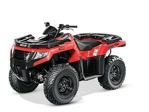 2016 Arctic Cat Alterra 400 Classic Red