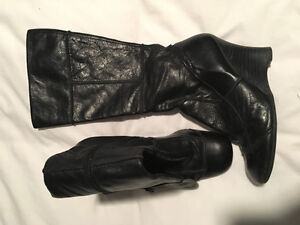 Aldo Leather Boots  wedge