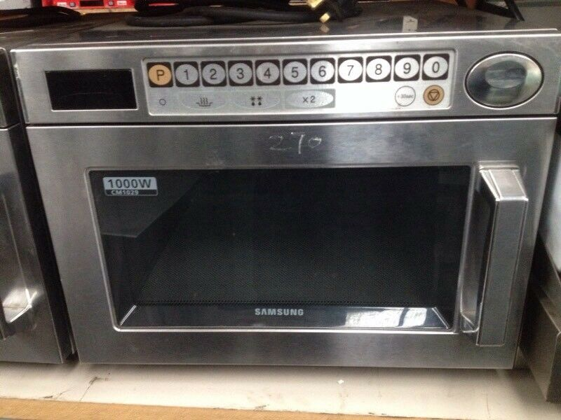 Commercial microwave (nearly new)