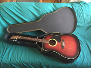 Acoustic 6 string guitar BC Rich Model bw 3000 bb