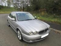 2004 '04' JAGUAR X-TYPE 2.0D CLASSIC 4 DOOR SALOON IN SILVER