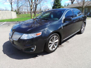 2009 LINCOLN MKS AWD, PAN ROOF, LOADED