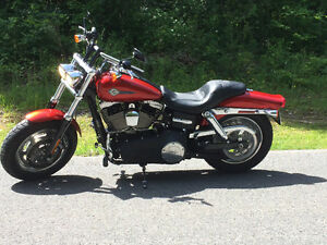 REDUCED! 2013 Harley Dyna fat-bob immaculate condition.