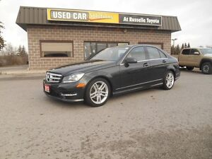 2013 Mercedes-Benz C-Class C300 4MATIC Sport Sedan Peterborough Peterborough Area image 2