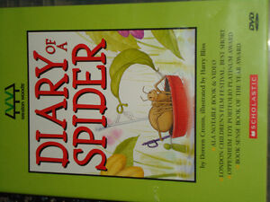 Diary of a Spider HARDCOVER book and DVD Set!!! Kingston Kingston Area image 6