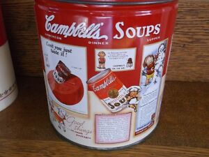 Collectible Campbell Soup Tin and Thermos Never used Belleville Belleville Area image 3