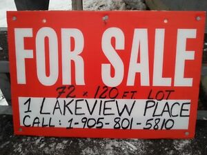 Serviced Building Lot for Sale, 1 Lakeview Place, Appleton, NL