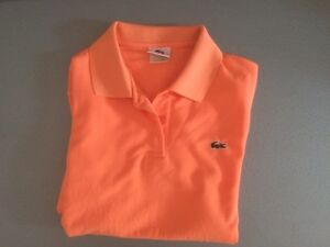 Polo Lacoste femme taille M