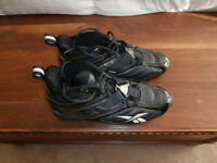 New Reebok football cleats size 11