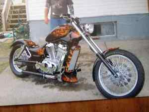Looking for my old chopper I built.