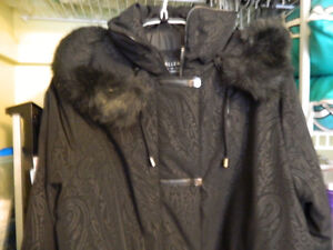 NWT--black winter coat