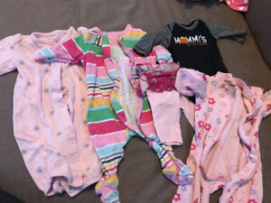 Newborn sleepers and couple other items