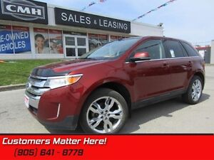 2014 Ford Edge Limited   AWD, LEATHER, NAV, CAM, PANROOF, LOADED