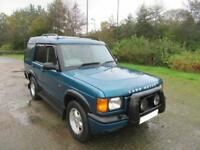 2000 'W' LAND ROVER 2.5 TD5 XS 7 SEATER IN MET TURQOUISE