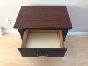 Solid wood hotel grade night stands