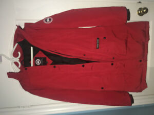 BRAND NEW CANADA GOOSE RED JACKET - price is negotiable