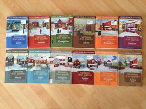 Mémoires d'un Quartier (série complète de 12 volumes) romans