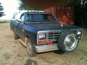 1983 Dodge Power Ram 1500 Pickup Truck