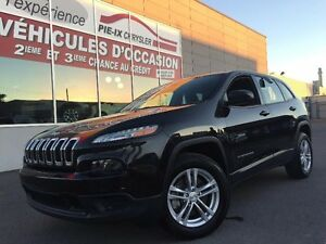 Jeep Cherokee 4WD 4dr Sport+MAGS+A/C+GR.ELEC+WOW+4X4! 2014