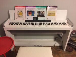 Korg LP350 Keyboard (4 Music Books Plus Metronome Included)