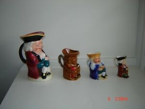 Antique Toby Jugs - $40 for all London Ontario image 3