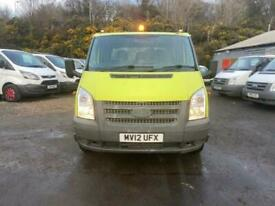 2012 Ford Transit 2.2 350 DRW 99 BHP CHASSIS CAB Diesel Manual
