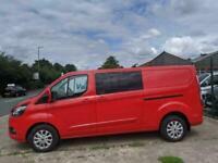 Ford Custom 300 L2H1 170PS Limited Crew van - Rear Cam - Single Passenger Seat