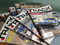 24 issues INSIDE TRACK MOTORSPORT NEWS for racing fans, latest,