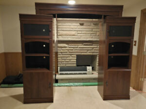 Entertainment Wall Unit-TV cabinet