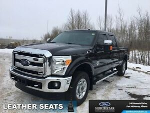 2015 Ford F-350 Super Duty Lariat   - Leather Seats -  Heated Se