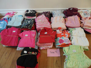 Size 4 girl clothing