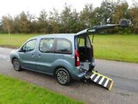 2012 62 Peugeot Partner Tepee 1.6 eHdi Automatic WHEELCHAIR ACCESSIBLE VEHICLE
