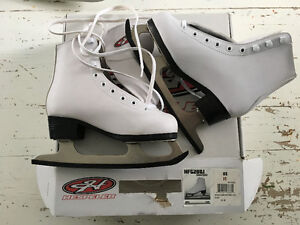 White Figure Skates - Kids Size 11