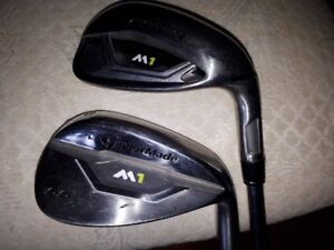 Taylormade M1 irons Approach and Sand Wedge 55 deg loft