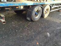 SDC flat trailer 42ft with twistlocks