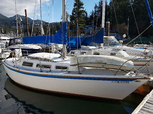Catalina Yacht Sailboat, 1976, 27'