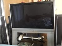 Panasonic 42 inches PLASMA TV with Entertainment System