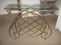Table console (rack a vin ) BOMBAY