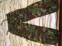 Army issue trousers * 34 waist*