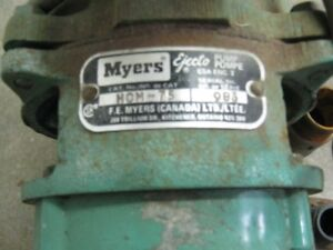 Myers Deep Well Jet Pump