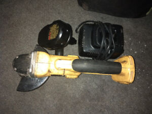 Grinder with Battery and Charger