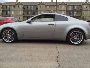 2004 Infiniti G35 coupe. Brembo package.