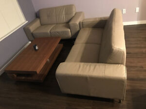 Couch and love seat for sale!