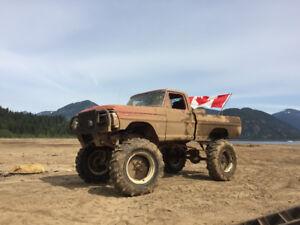 1972 Ford Mud Truck