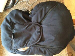 Car seat cover fleece lined