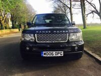 2006 Land Rover Range Rover Sport 2.7 HSE Black Diesel 1 previous owner FSH