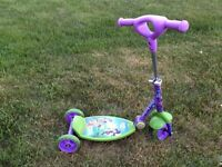 Tinker bell folding scooter